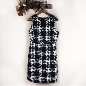 ☕️ 5/$20 Target Merona Wool Blend Checkered Dress